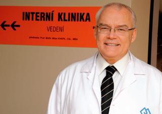prof. MUDr. Milan Kvapil, CSc., MBA