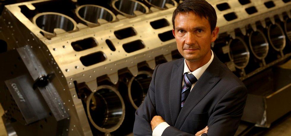 Jan Rýdl, statutární ředitel TOS Varnsdorf