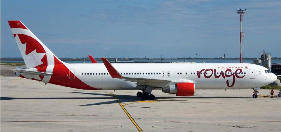 Pr článek pro Air Canada