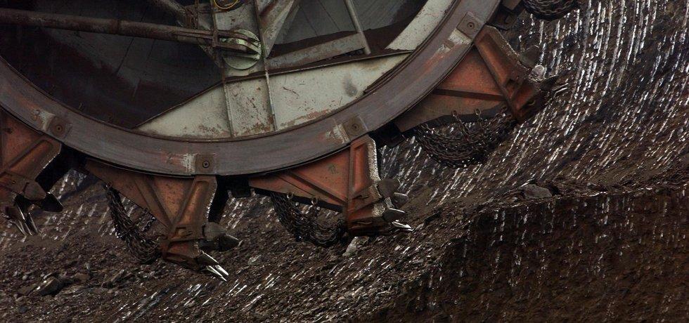 Těžba uhlí - ilustrační foto (Sokolovsko)
