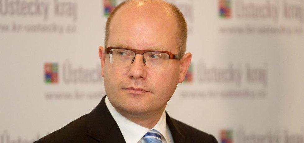 Premiér Bohuslav Sobotka (Zdroj: čtk)