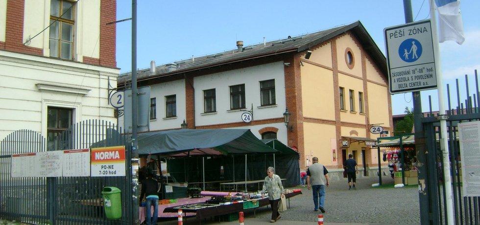 Areál Holešovické tržnice
