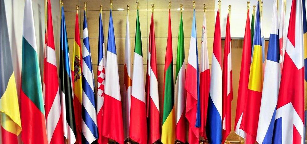 Vlajky jednotlivých států Evropské unie