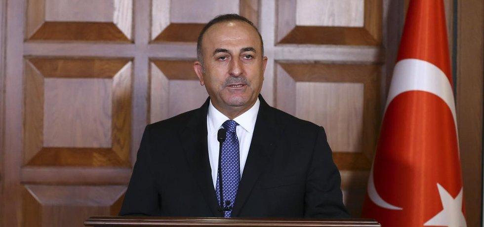 Turecký ministr zahraničí Mevlüt Çavuşoglu