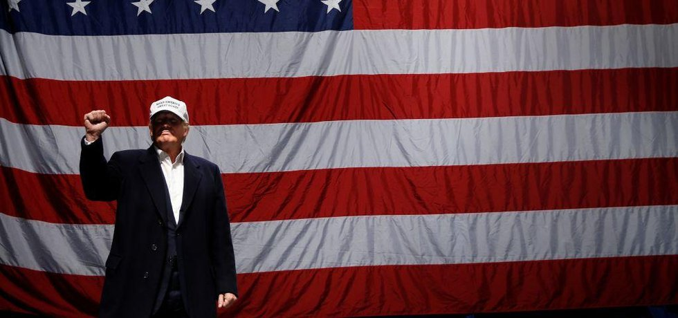 Vítěz amerických voleb Donald Trump