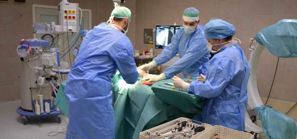 ilustrační foto z operačního sálu