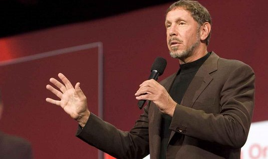 Šéf Oracle Larry Ellison