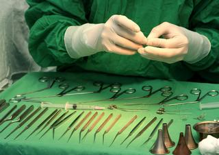 nástroje, chirurgie, operace