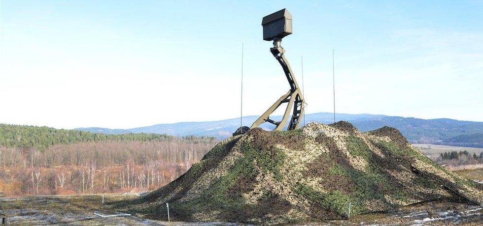 Radiolokátor pardubické společnosti Retia
