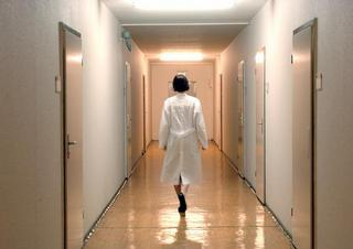 nemocnice, chodba