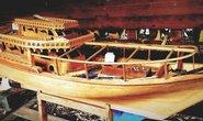 Stavba tradiční indické lodě Uru