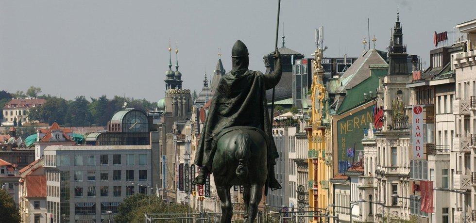 Václavské náměstí v Praze