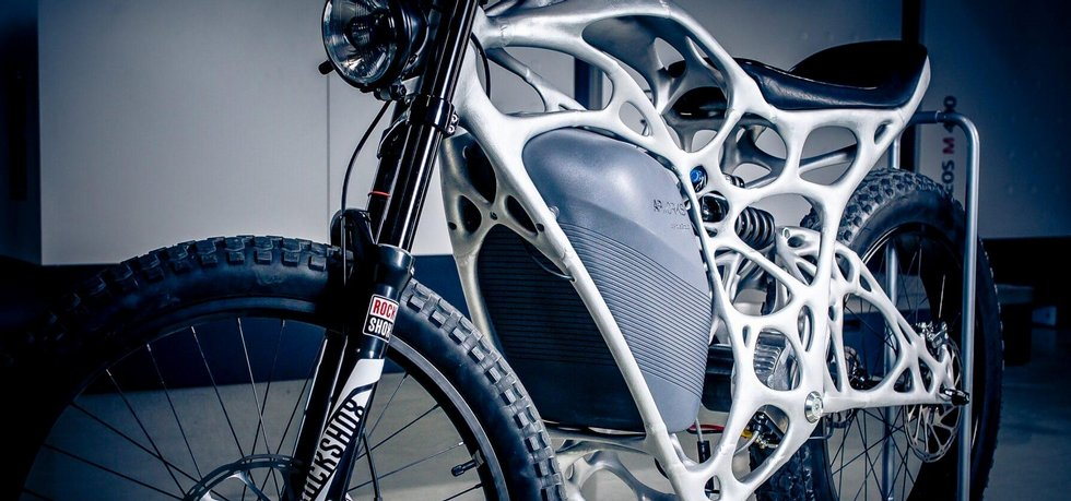 Motocykl Light Rider
