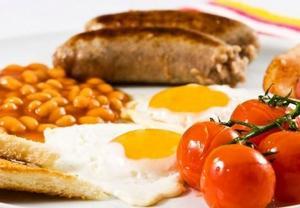 Anglická tradicní snídane