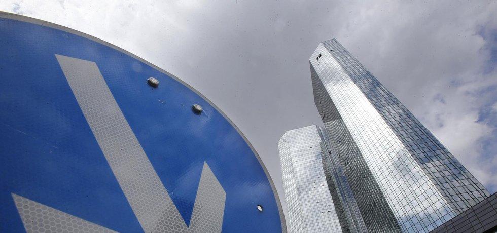 Sídlo Deutsche Bank v německém Frankfurtu