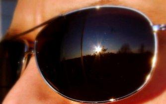 Sluneční brýle, ilustrační foto