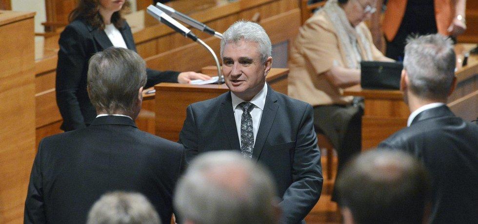 Milan Štěch, předseda Senátu