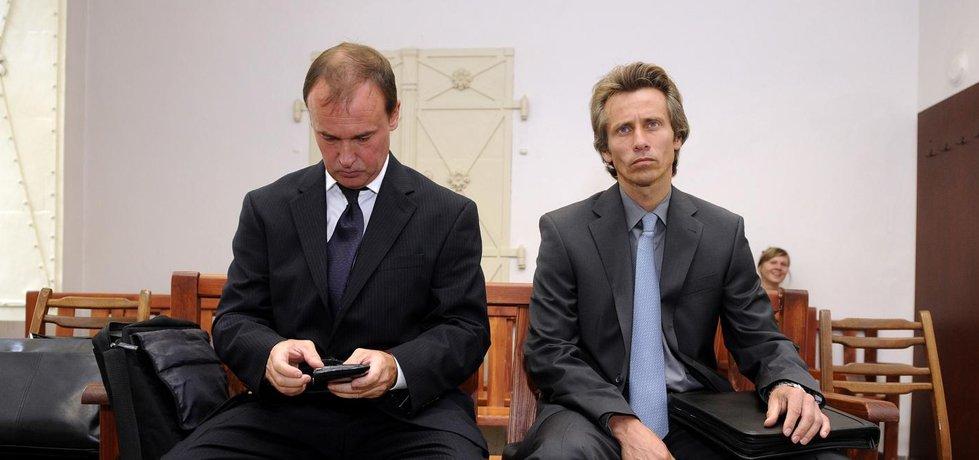 Exmanažeři Čepra Tomáš Kadlec (vlevo) a Alexandr Houška
