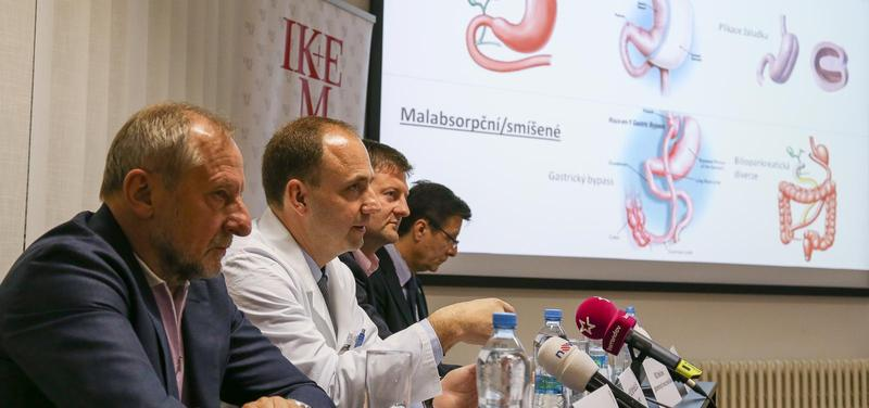 Tisková konference IKEM k revoluční léčbě diabetu 2. typu