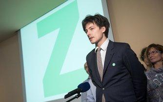 Matěj Stropnický na sjezdu Strany Zelených