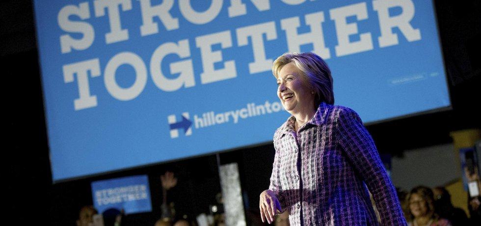Národní sjezd Demokratické strany, Hillary Clintonová (Zdroj: ČTK)