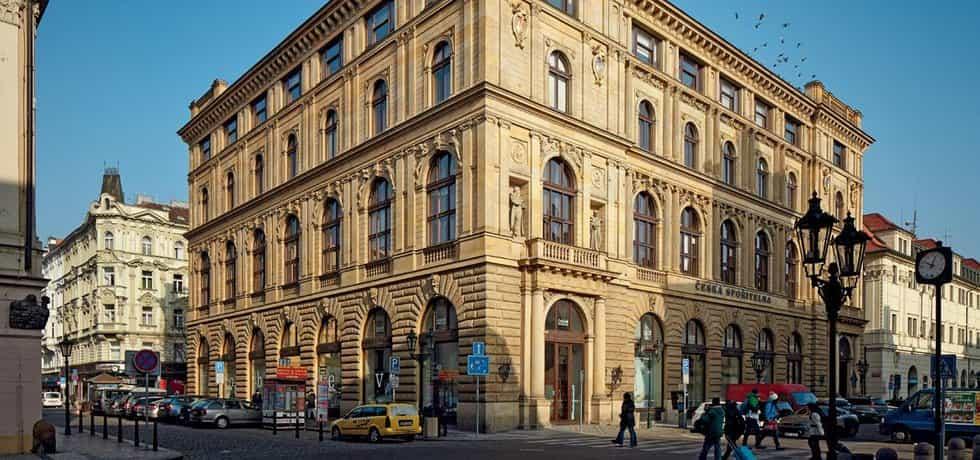 Palác České spořitelny v pražské Rytířské ulici