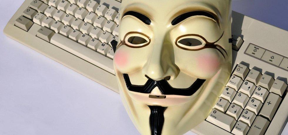 Anonymous, ilustrační foto (Zdroj: ČTK)