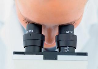 Ilustrační foto; výzkum, laboratoř, mikroskop