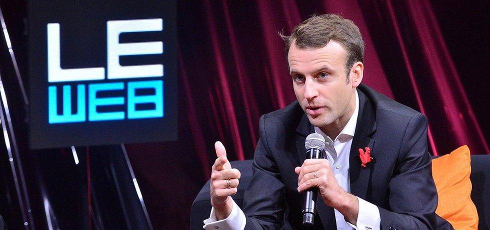 francouzský ministr hospodářství Emmanuel Macron