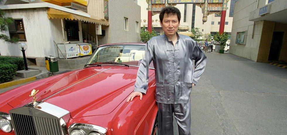 Rolls-Roye a čínský boháč Richard Li