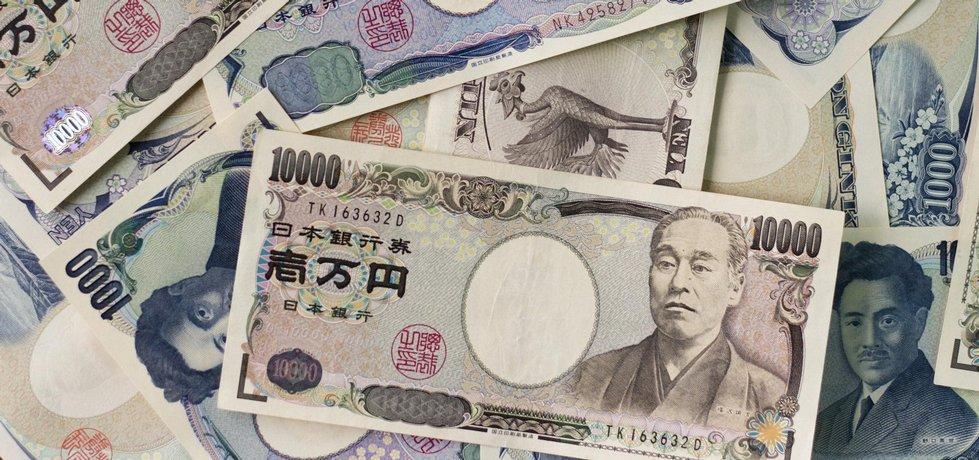 Japonské jeny. Foto BY CC 2.0. Japanexperterna.se; Flickr