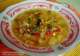 Dýňová polévka s kukuřicí