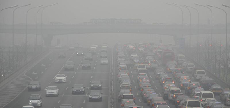 smog, ovzduší, doprava