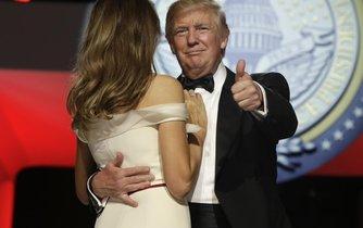 Donald Trump si den své inaugurace skutečně užíval.