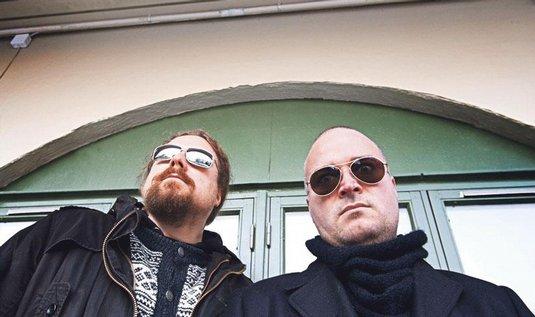 Einar Sjurso (vlevo) a Carl-Michael Eide