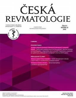 Obálka Česká revmatologie