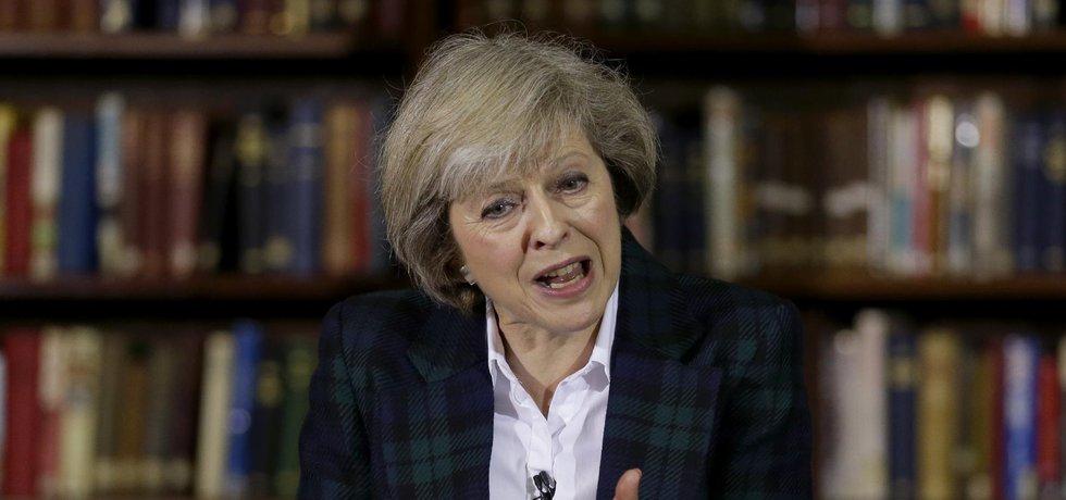 Britská ministryně vnitra za konzervativce Theresa Mayová