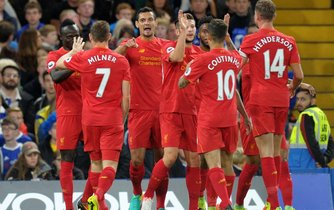 Fotbalisté Liverpoolu