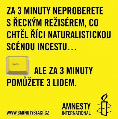 Tři minuty pro Amnesty International