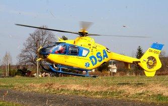 Vrtulník firmy DSA