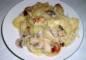 Bezmasé zapékané brambory