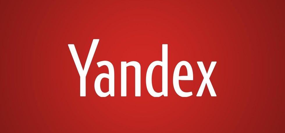 Logo ruské společnosti Yandex