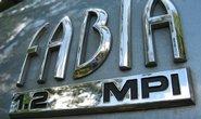 Škoda Fabia, ilustrační foto
