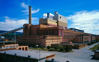 Elektrárna Tisová u Sokolova