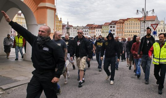Demonstrace v Českých Budějovicích