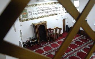 Interiér brňenské mešity