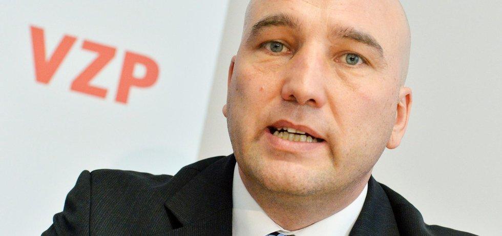 Ředitel Všeobecné zdravotní pojišťovny (VZP) Zdeněk Kabátek