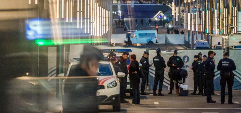 Policie v Bruselu
