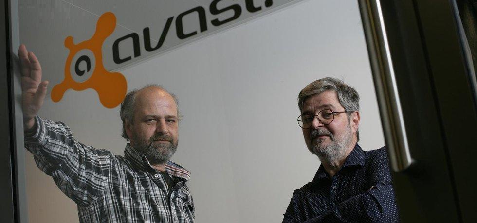 Zakladatelé Avastu Pavel Baudiš (vlevo) a Eduard Kučera