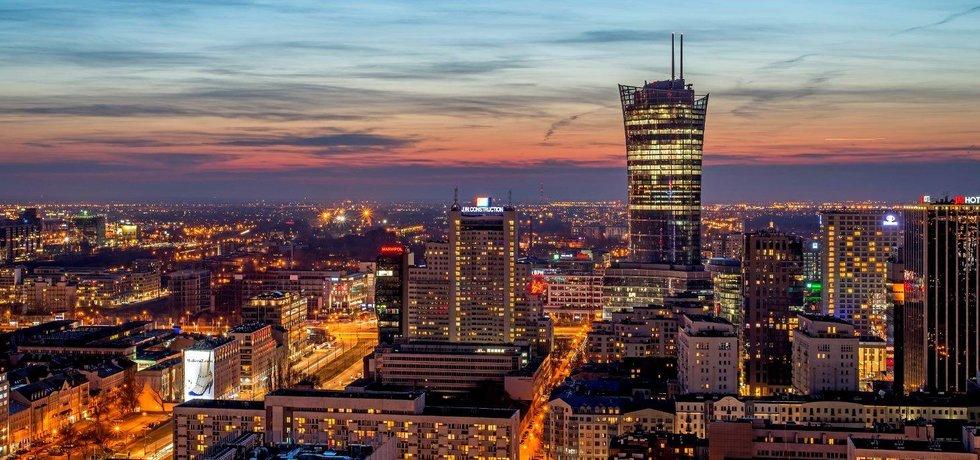 Warsaw Spire (Zdroj: Ghelamco)